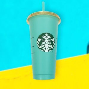 New Starbucks Color Changing Tumbler Sea 24oz